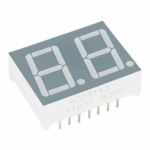 Dual 7-Segment Display - LED (RGB)