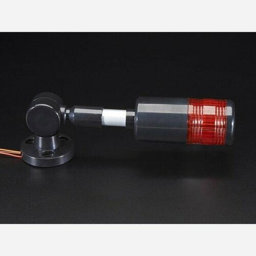 Tower Light - Red Alert Light with Buzzer - 12VDC