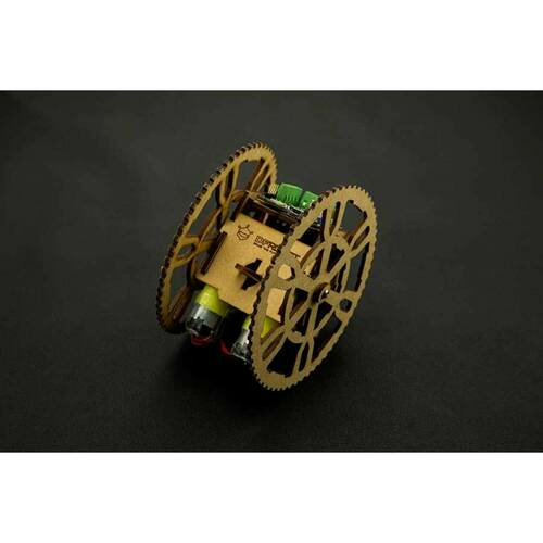 Flamewheel Robot - A Remote Control Assembled Robot
