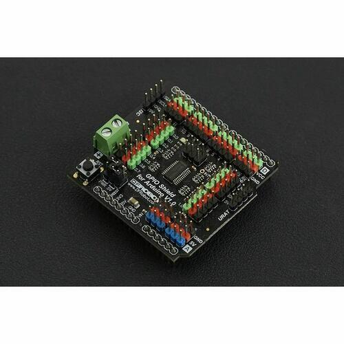 Gravity:  Arduino GPIO Shield