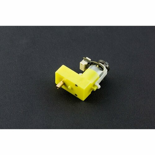 TT Geared Motor with Encoder (6V 160RPM 120:1 L Shape)
