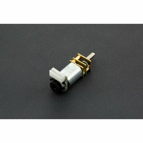 Micro DC Geared Motor w/Endoder - 6V 530RPM 30:1