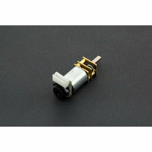 Micro DC Geared motor  w/Encoder- 6V 155RPM 100:1