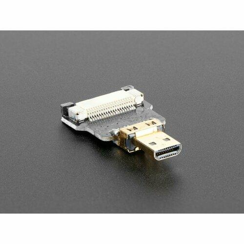 DIY HDMI Cable Parts - Straight Micro HDMI Plug Adapter