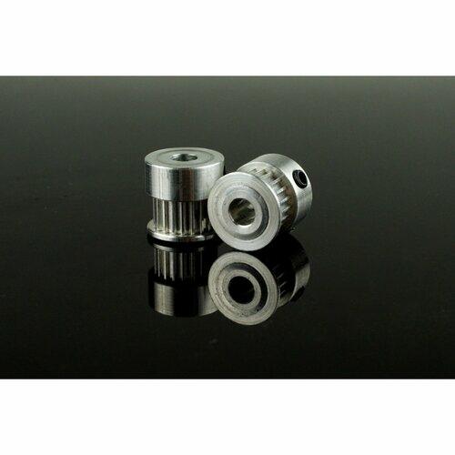 5mm Aluminum Timing Pulley For 3D Printer (2 pcs)