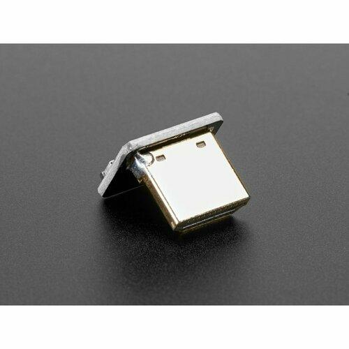 DIY HDMI Cable Parts - Right Angle (L Bend) HDMI Plug Adapter