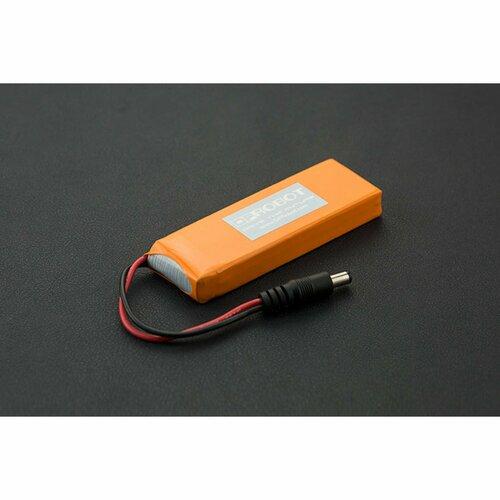 7.4V Lipo 2500mAh Battery (Arduino Power Jack)