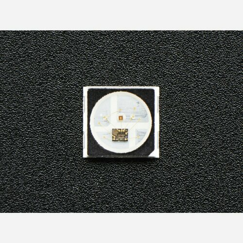 NeoPixel Mini 3535 RGB LEDs w/ Integrated Driver Chip - Black [Pack of 10]