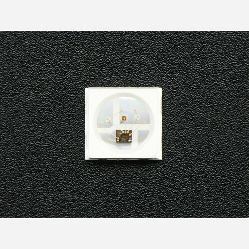 NeoPixel Mini 3535 RGB LEDs w/ Integrated Driver Chip - White [Pack of 10]