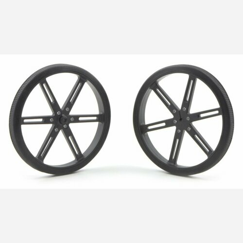 Pololu Wheel 90x10mm Pair - Black