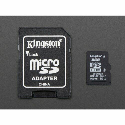 8GB SD Card with Raspbian Jessie Operating System