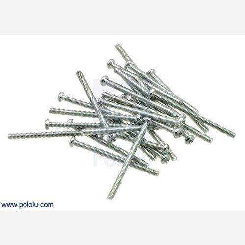 Machine Screw: #2-56, 1 1/4 Length, Phillips (25-pack)