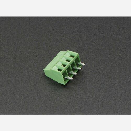 2.54mm/0.1 Pitch Terminal Block - 4-pin