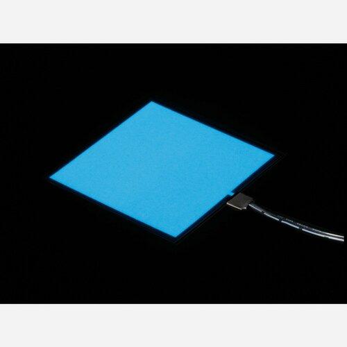 Electroluminescent (EL) Panel Starter Pack - 10cm x 10cm White