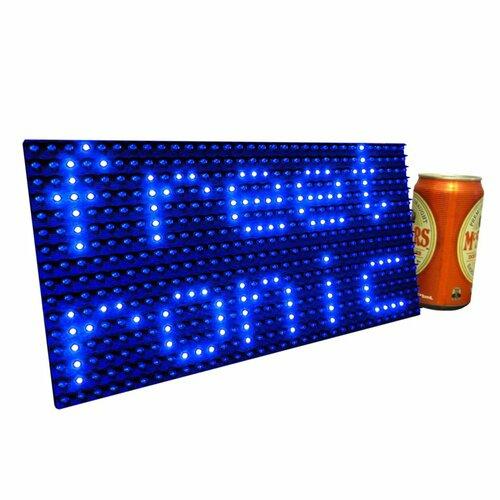Blue LED Dot Matrix Display Panel 32x16 (512 LEDs)