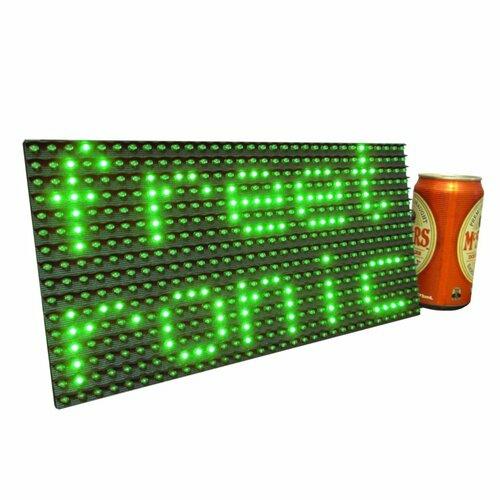 Green LED Dot Matrix Display Panel 32x16 (512 LEDs)