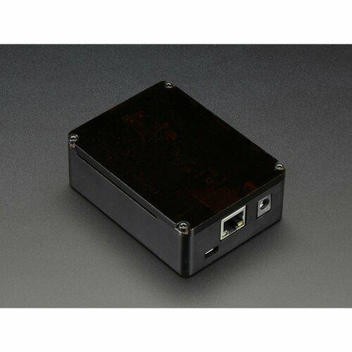 Anidees Beaglebone Black Case - Black Aluminum with Smoke Top
