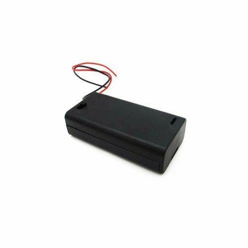 Battery Holder with Switch - 2 x AA