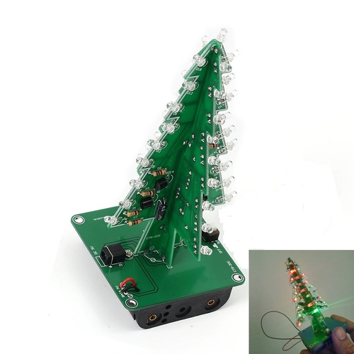 LED Christmas Tree - Learn To Solder Kit