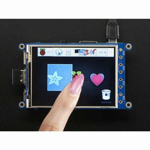 PiTFT Plus 320x240 3.2 TFT + Resistive Touchscreen