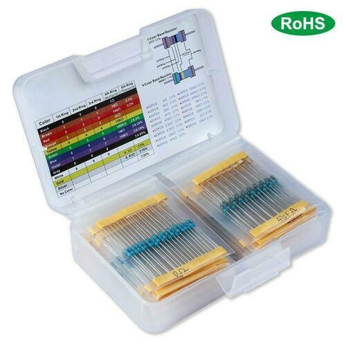 Resistor Kit in Plastic Case