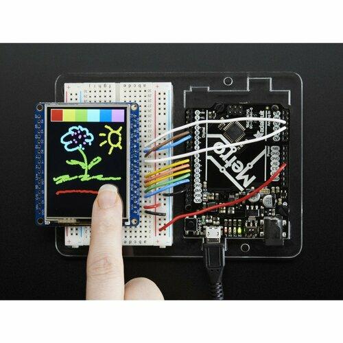 Adafruit 2.4 TFT LCD with Touchscreen Breakout w/MicroSD Socket [ILI9341]