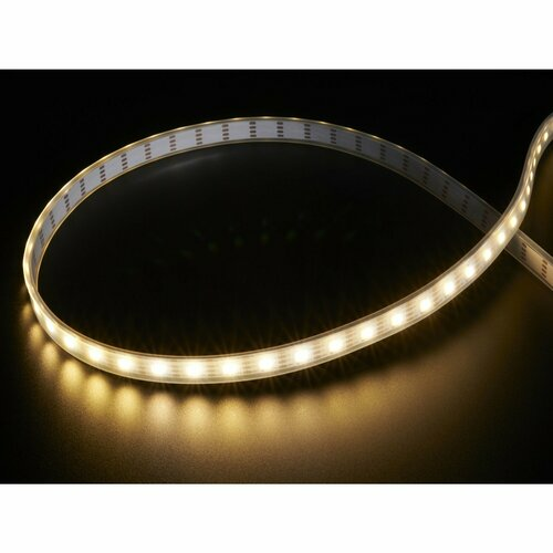 Adafruit DotStar LED Strip - APA102 Warm White - 60 LED/m [~3000K]
