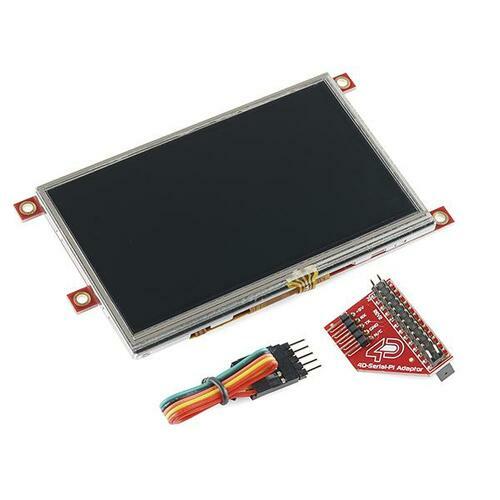 Raspberry Pi Display Module - 4.3 Touchscreen LCD