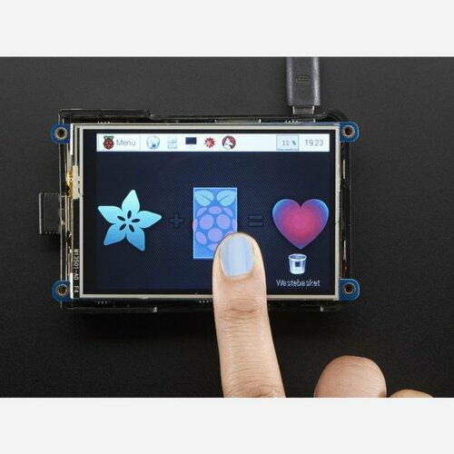 PiTFT Plus 480x320 3.5 TFT+Touchscreen for Raspberry Pi