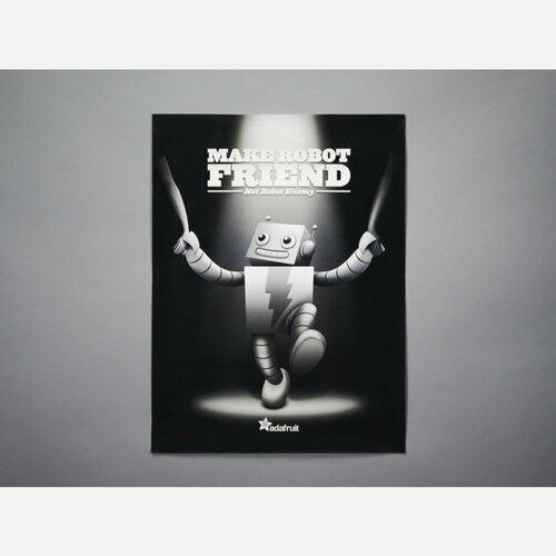 ADABOT Make Robot Friend Poster