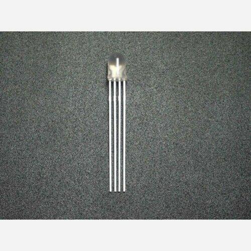 5mm Triple Output LED RGB - Common cathode (20 PCs)