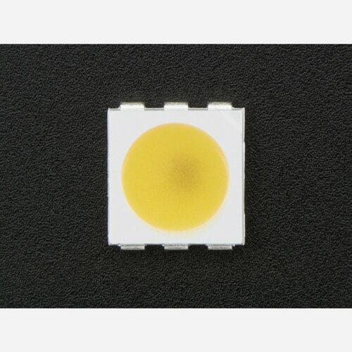 APA102 5050 Warm White LED w/ Integrated Driver Chip - 10 Pack [~3000K]