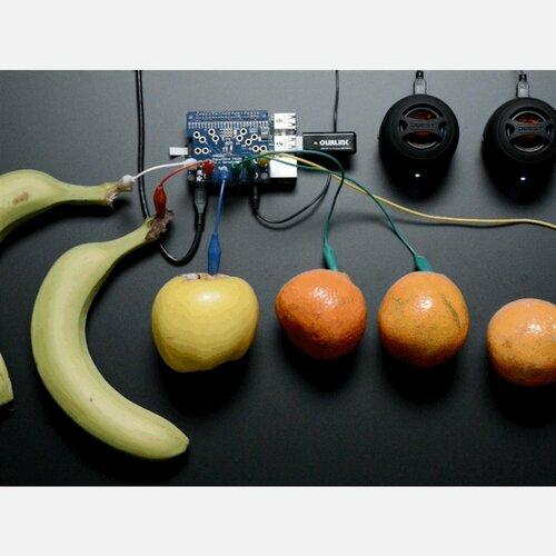 Adafruit Capacitive Touch HAT for Raspberry Pi - Mini Kit [MPR121]