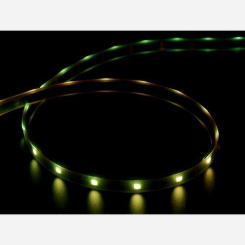 Adafruit DotStar Digital LED Strip - Black 30 LED - Per Meter [BLACK]