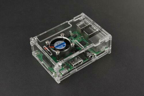 Transparent Acrylic Case for Pi B+/2B/3B