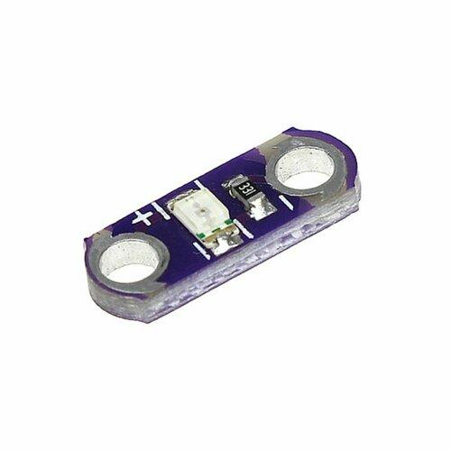 E-textiles LED Module Yellow Single