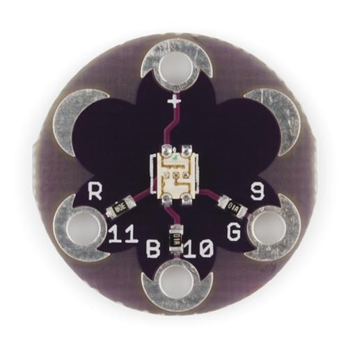 E-textiles LED Module Tri-color Module RGB