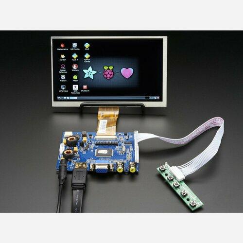 HDMI 4 Pi: 7 Display  Audio 1024x600 - HDMI/VGA/NTSC/PAL