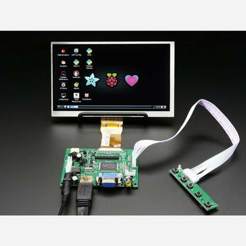 HDMI 4 Pi: 7 Display no Touchscreen 1024x600- HDMI/VGA/NTSC/PAL