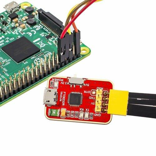 3.3V 5V FTDI232R USB to TTL Serial Adapter Module