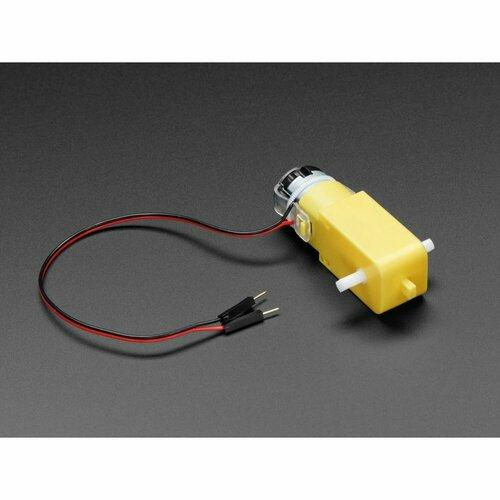 DC Gearbox Motor - TT Motor - 200RPM - 3 to 6VDC