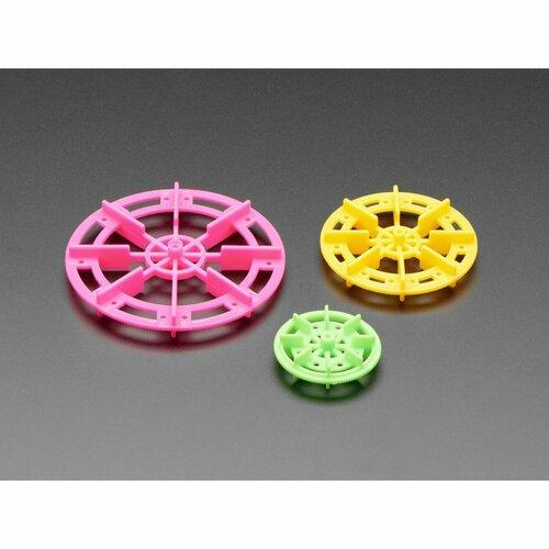 Paddle Wheel Pack for TT Gearbox Motor